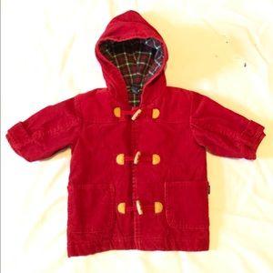 6-9 mos. Corduroy coat